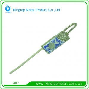 China Elegant metal bookmark on sale