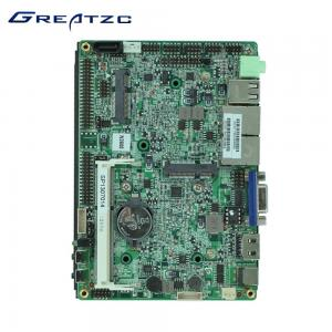 China 2 LAN Intel Atom N2600 Dual Core 3.5 Inch Motherboard With LVDS 6 USB 6 COM MPICE MSATA on sale
