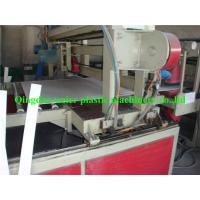PVC Plastic Board Production Line / Making Machine , Thickness 5mm - 30mm