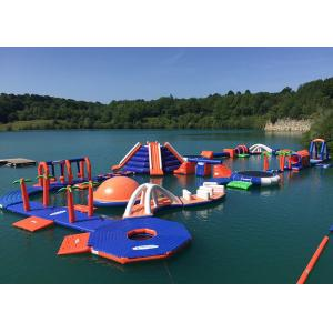 China Commercial Grade Inflatable Water Parks Equipment with Slide Game supplier