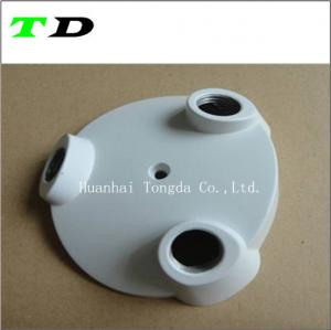 China SGS certification manufaturer OEM  customized zinc die casting parts with powder coating on sale