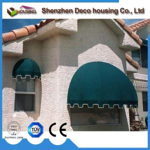 China Modern house design fixed small window acylic fabric awning /dome awning on sale