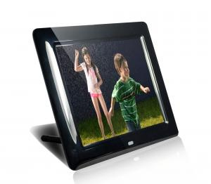 China Black HDMI MP3 / WMA 8 Digital Video Photo Frame With Music 350cd/m2 on sale