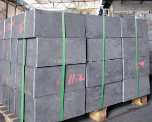 China High Density Low Ash Content Fine Grain  Size Pressed Graphite Blocks Supplier on sale
