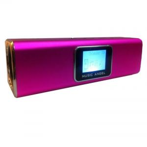 China Music Angel Portable Speaker TF LCD Screen , Audio Portable Speaker on sale