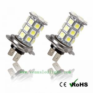 China H7 WHITE LED 27SMD 5050 STRONGER CAN BUS Fog Car Bulbs on sale