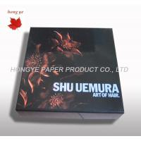 Folding Paper Hair Extension Packaging Boxes With Silk Screen