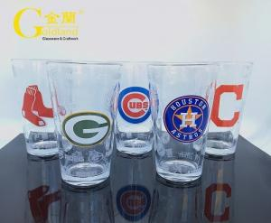 China beer glasses drinking glasses custom pint glasses water glasses on sale