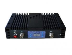 China Mobile Signal booster with LCD 20dBm Dual Bnad Wide Band 70dB Gain ceverage 800 on sale