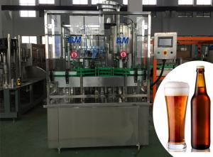China Soft Drink / Beer Bottle Capper Machine For Bottle Filling Line 4000BPH on sale