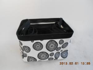 China cloth laundry basket with liner on sale