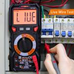 Professional Automatic Digital Multimeter 1000v With Input Jack LED Indicator