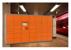 China Customized Public Digital Smart Rental Lockers Storage Luggage With RFID Cards on sale