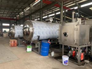 China Automatic ZG-200㎡ Vacuum Freeze Drying Machine Large Size Heavy Duty on sale