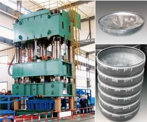 Vertical Hydraulic Press Machine 1000 Ton For Max 1000 Mm
