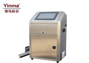China White Pigment Ink Small Character Inkjet Printer 1 - 4 Lines For Black Rubbers on sale