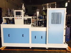China Cr12 Big Cam Adopted Paper Glass Making Machine 3.3 KW 220V/380V on sale