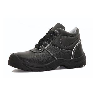 Construction Site PU Sole Shoes / Steel Sole Shoes 6 - 9 Month Guarantee