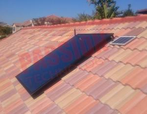 China Closed Circulation Flat Plate Solar Collector With Copper Connection Accessories on sale