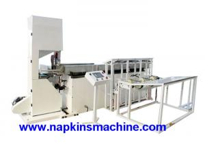 China Horizontal Band Saw Cutting Machine for Facial Tissue 100 Cuts Per Min on sale