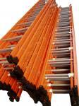 La poudre d'OEM a enduit l'échelle d'étape en acier d'échafaudage de 5M, échelles de sécurité du travail