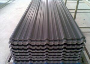 China Colorful Bitumen Corrugated Steel Sheets , Insulated Roofing Panels on sale