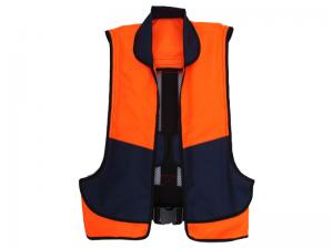 China Red / Orange Automatic Inflatable Life Vest PFD For Boat on sale
