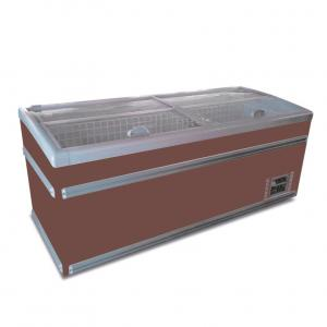 China Supermarket 2.5m Combined Island Display Freezer With Secop Compressor on sale