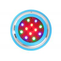 Plastic Remote Control Led Pool Light , 12w AC DC 12V 24V RGB Swimming Pool Lights