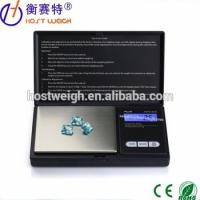 Hostweigh facotry500g 0.1g plastic Digital Scale Pocket Jewelry Scale Weigh Balance, 1-Year Wa