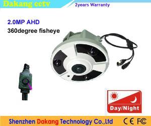 China Full HD 1080P Analogue CCTV Eyeball Video Camera 360 Degree Fisheye on sale