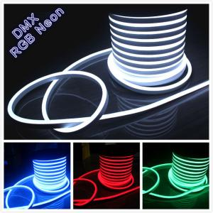 China festival decoration AC 110V flexible neon rope light 14*26mm IP67 soft tube light 120v on sale