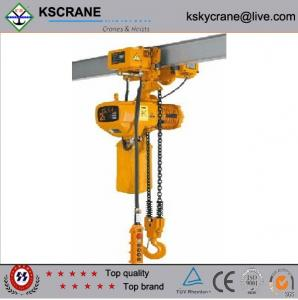 China Best After-sale Service 500kg Electric Chain Hoist on sale