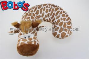 China Plush Stuffed Giraffe Neck Support Soft Children Neck Pillow on sale