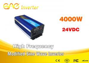 China 4000W modified sine wave car power inverter DC24V DC48V to AC  220V inverter on sale
