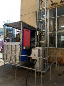 Quality 1500kg 450 2 * 11kw Construction Material Lifting Equipment Controlling On for sale