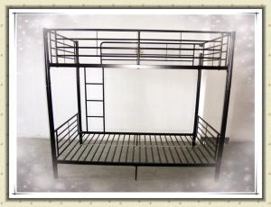 Metal Heavy Duty Adult Iron Steel Double Bunk Bed For School