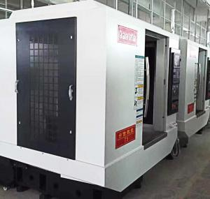 China Heavy Duty CNC Horizontal Machining Center Linear Guide Way For Stable Machining on sale