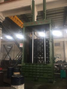 China Y82T - 63F Vertical Baler Machine , Waste Cotton Baling Machine on sale