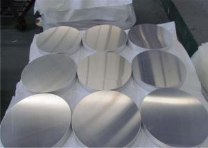 China Signal Plate Aluminium Sheet Circle High Hardness Temper H24 on sale