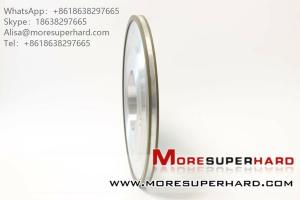 China 14A3 Resin bonded diamond tool grinding wheel can be used to make hard alloy  Alisa@moresuperhard.com on sale