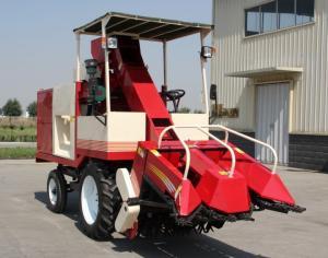China Corn harvester,4YZ-2X corn combine harvester 65HP,Corn harvester threshing machines. on sale
