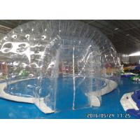 Commercial Transparent Clear Bubble Tent Outdoor Inflatable Camping Tent With Rooms