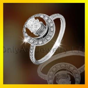 China wholesale 925 sterling silver ring for lady ,CZ set stone ,fashion jewelry on sale