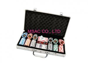 China Aluminum Chip Cases/Chip Carry cases/Counter Carrying Cases/300 pcs Chip Cases on sale