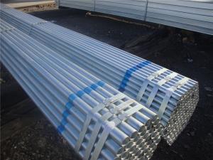 China Tubería de acero galvanizada sumergida caliente del carbono redonda con el material Q235 on sale