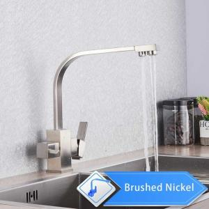 China White Kitchen Faucet Purity Kitchen Sink Mixer Tap Beige with Dot Purification Kitchen Water Faucets Drinking Water Tap on sale