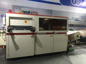 Quality Automatic Reel Paper Die Cutter , Double Wall Paper Die Cutting And Embossing for sale
