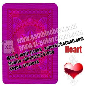 China Modiano Cristallo plastic marked cards for UV contact lenses|invisible ink|cards cheat|cheat in gameble on sale