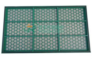 China Customized Mud Purification System Pyramid Screen 40 - 325 Mesh Range on sale